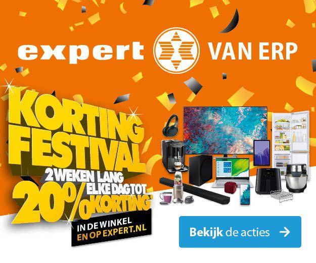 Banner Expert Site Kortingsfestival 2021