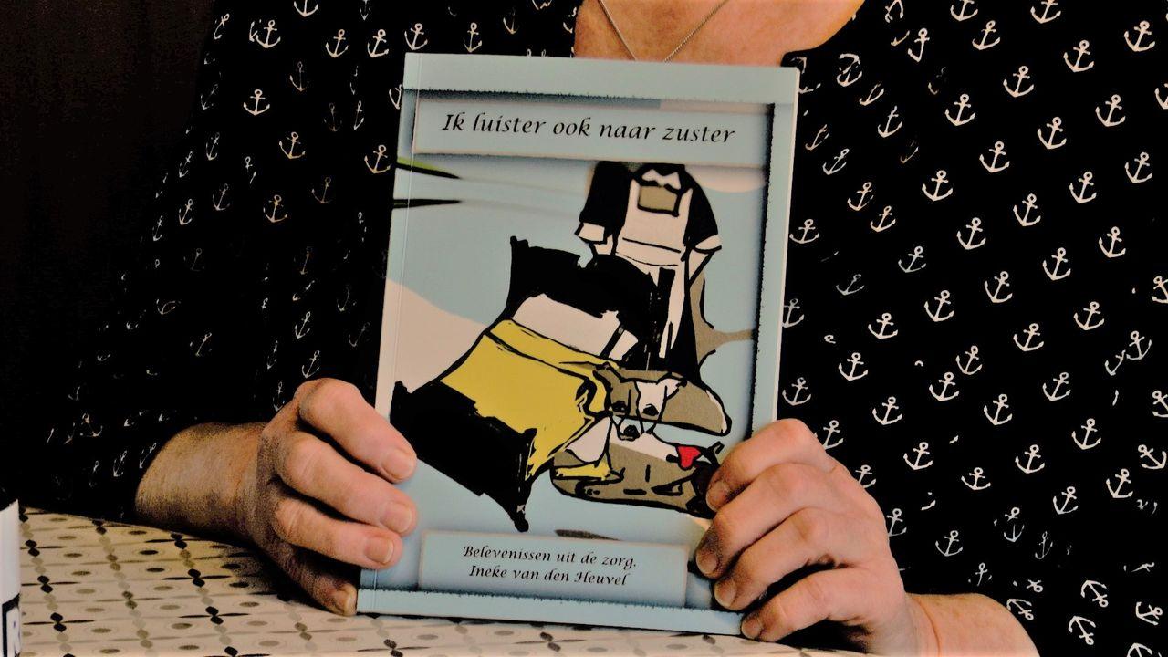Ineke van den Heuvel verwerkt 42 jaar aan anekdotes uit de zorg in boek