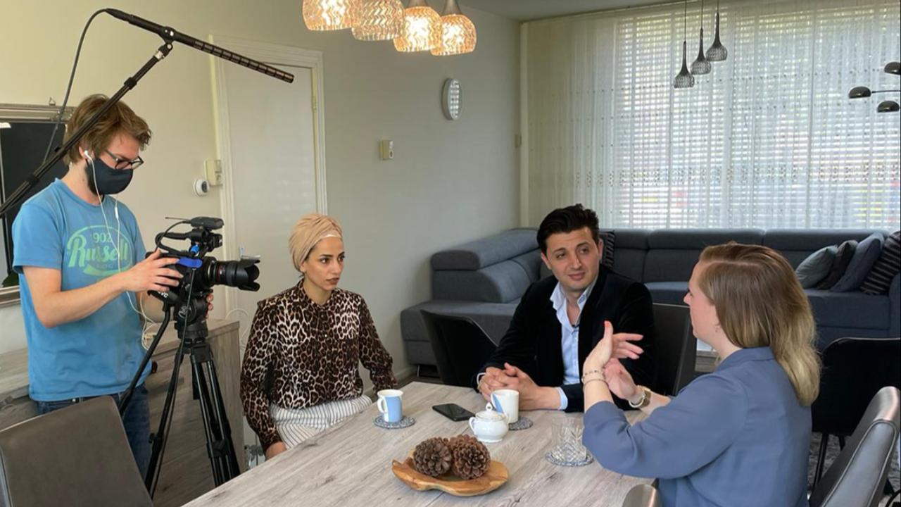 Vluchtelingen die in Oss 'nieuw thuis' vonden vertellen verhaal in vierdelige Dtv-documentaire