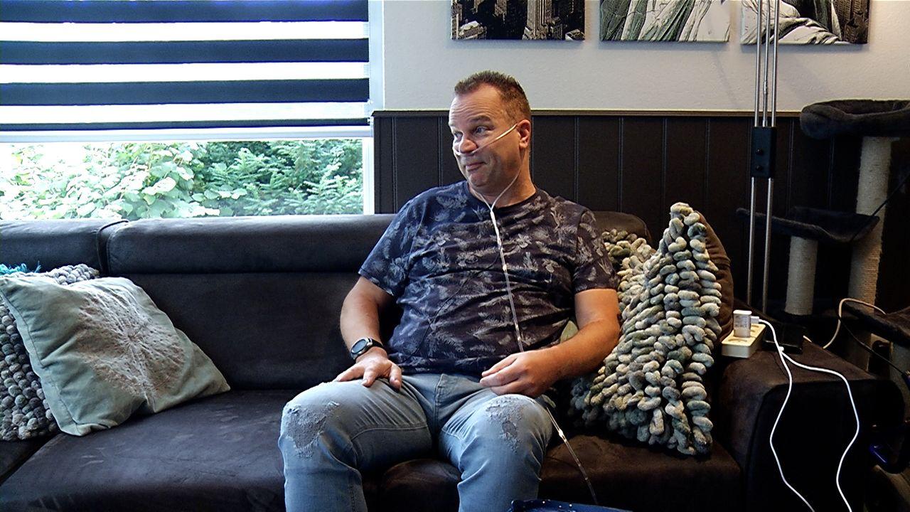Robert den Brok (52) met corona op de IC: 'verkeerde lot uit de loterij getrokken'