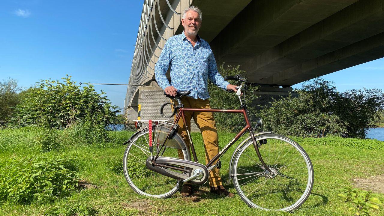 Nieuwe Maasbrug moet fietspad krijgen, 'scheelt 35 minuten fietsen'