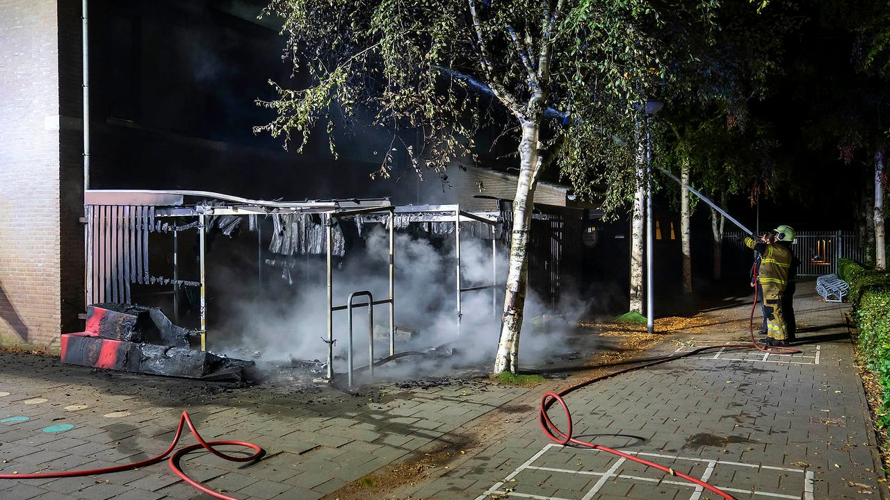 Weer een brand bij een basisschool in Oss, opnieuw brandstichting