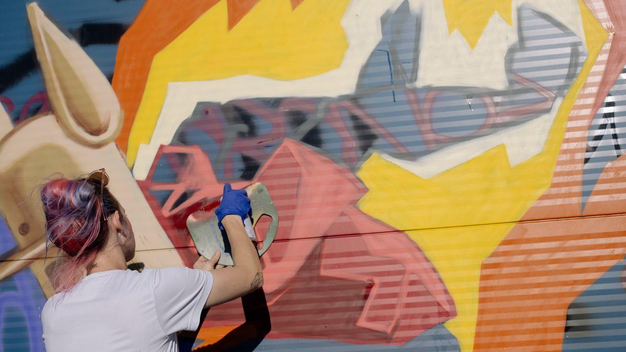 Uden heeft vanaf 24 oktober een legale graffitiplek