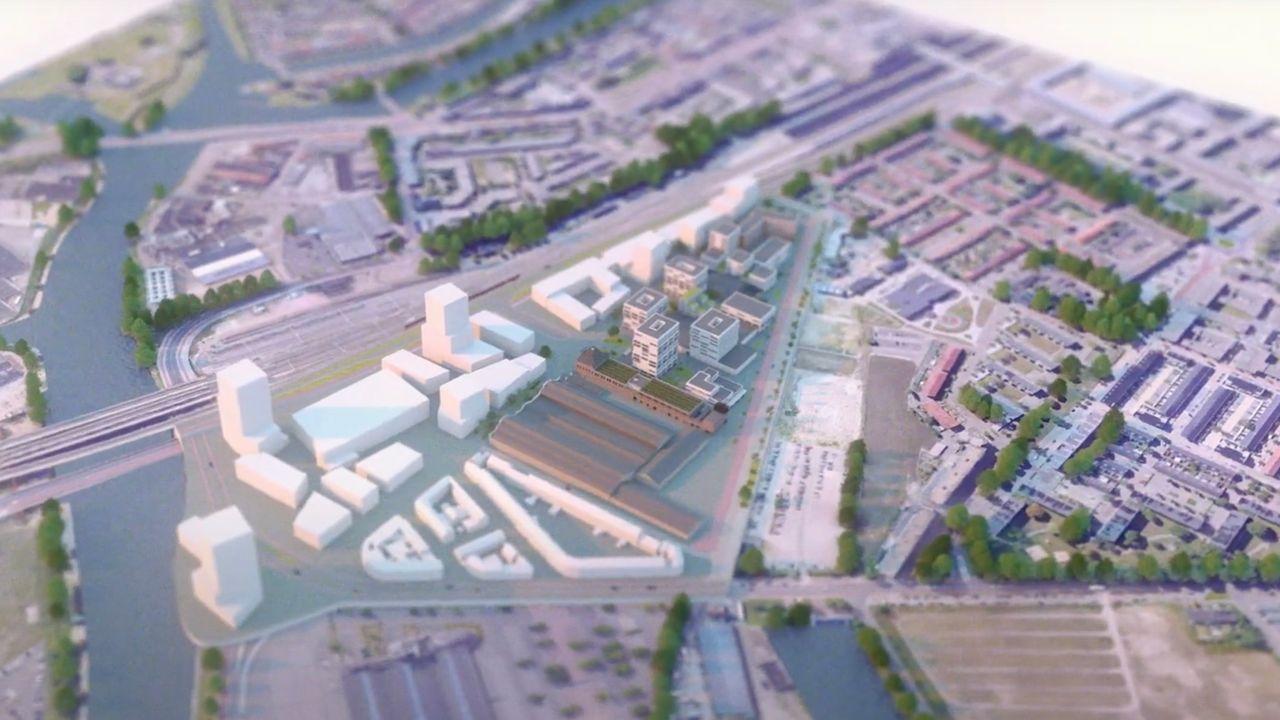 Innovatie Kwartier naam van nieuw ontwikkelgebied in Bossche Spoorzone