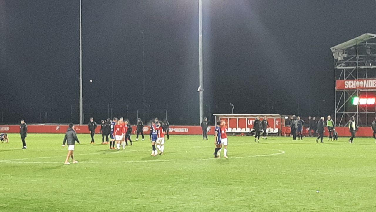 Negatieve reeks TOP Oss houdt aan op bezoek bij Jong FC Utrecht