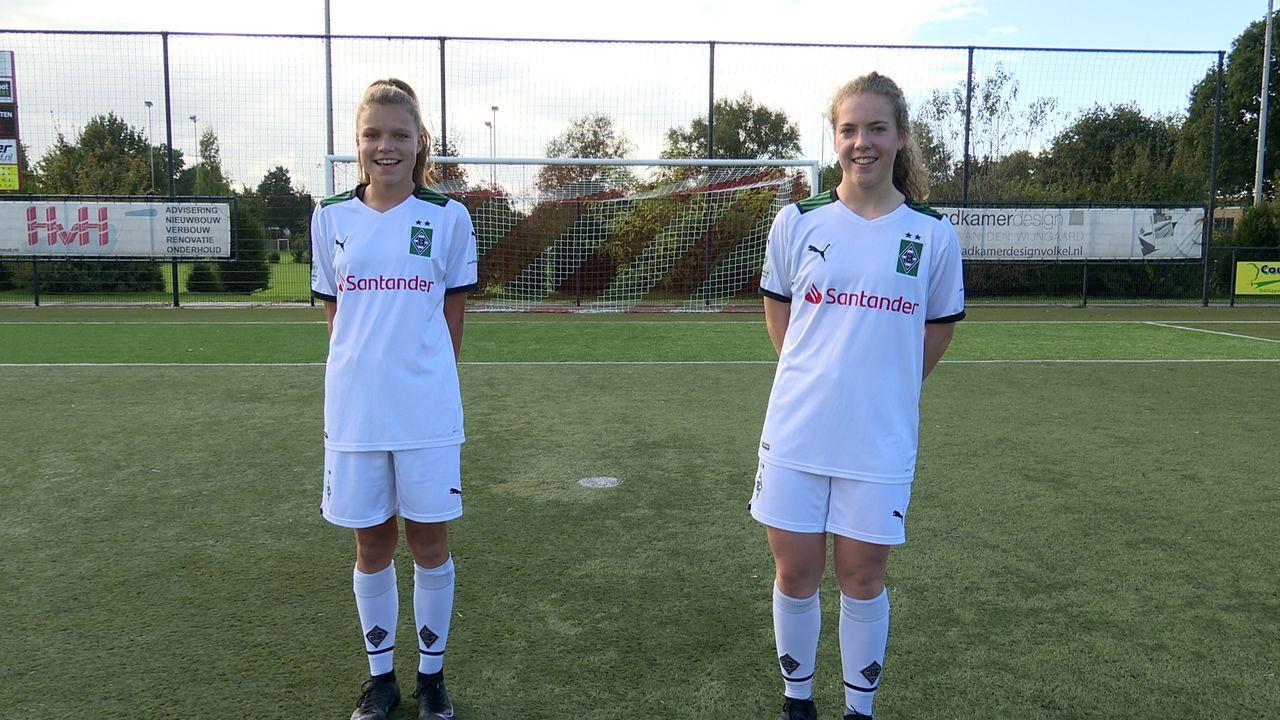 Renske (15) en Feije (16) maken overstap van RKSV Volkel naar Borussia Mönchengladbach