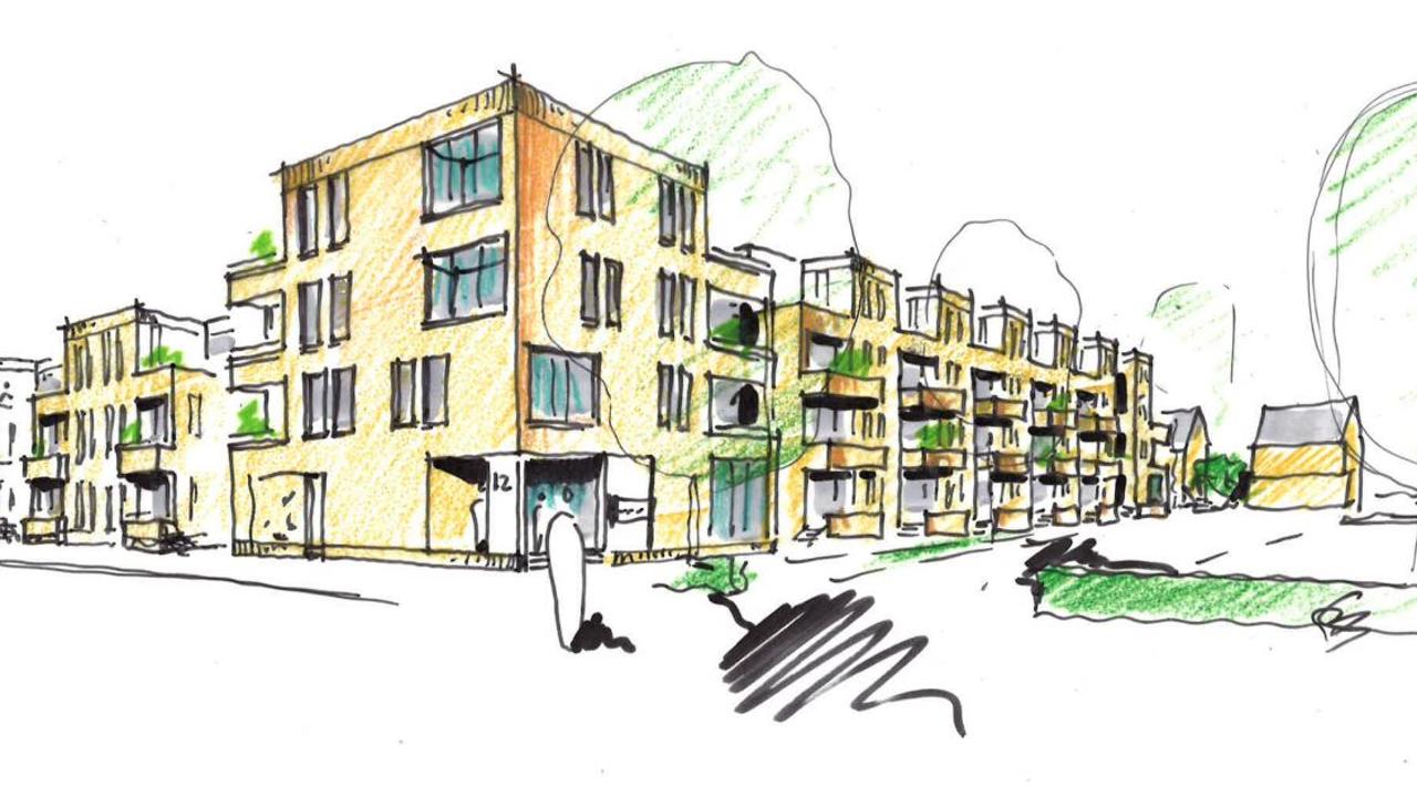 Werk in centrum Rosmalen begint: tijdelijk minder parkeerplaatsen