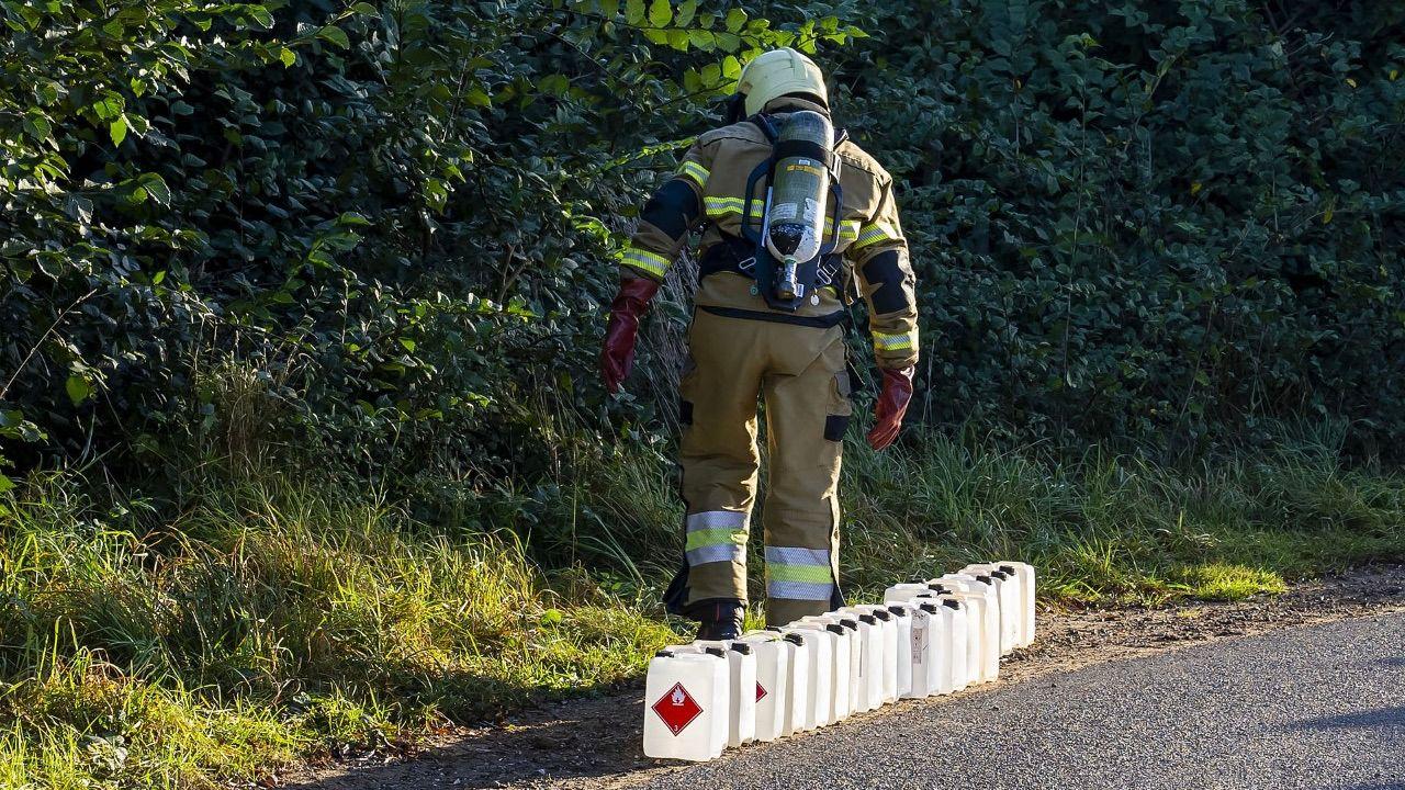 Drugsafval gedumpt op meerdere plekken in buitengebied van Oss