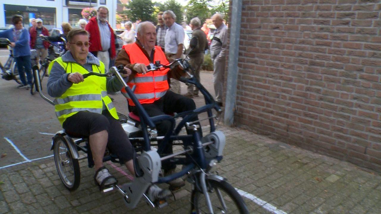 Ouderen trappen door bij fietstrainingen in Schaijk