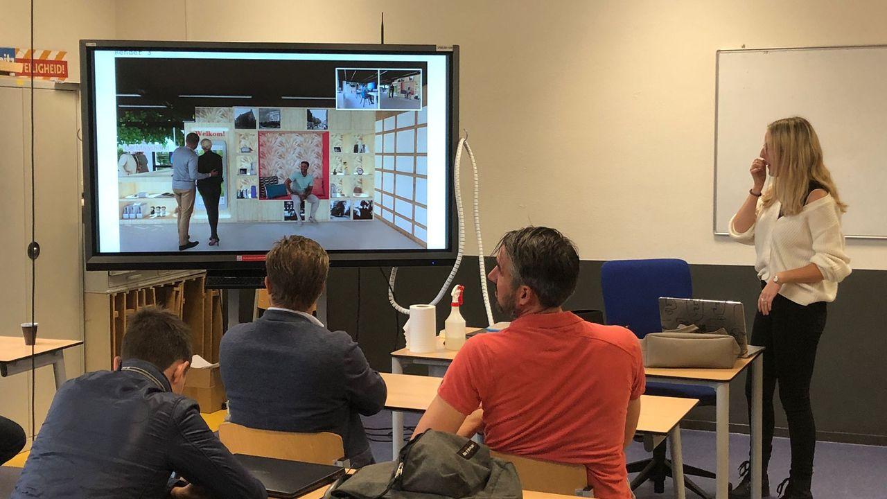 Udense Lara ontwerpt balie voor Toeristisch Informatiepunt in bibliotheek Uden