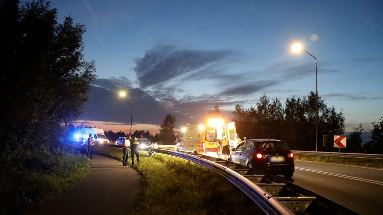 Twee mensen gewond geraakt bij scooterongeluk Nistelrodeseweg