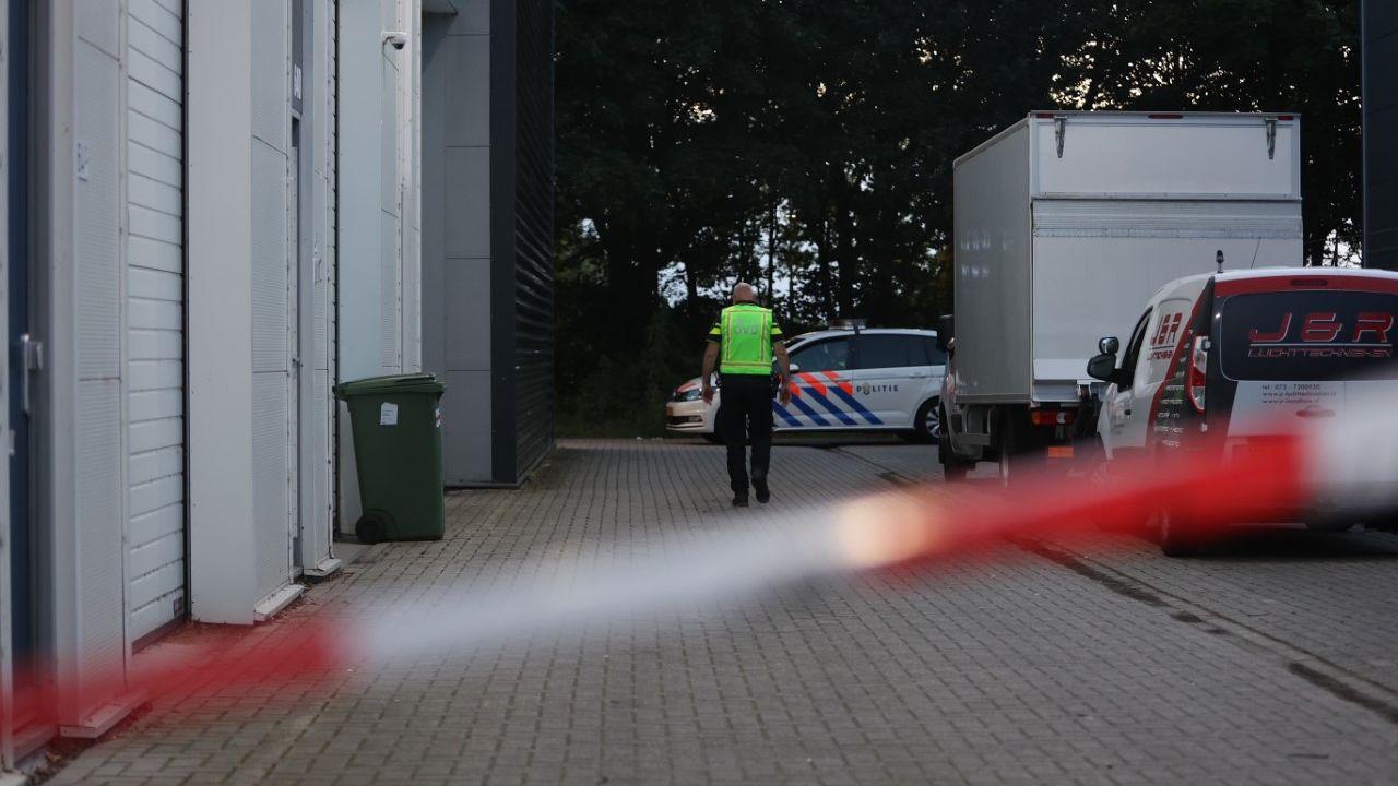 Drugslab op industrieterrein Kruisstraat