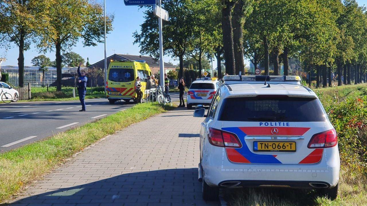 Vrouw raakt gewond bij ongeval op de Zeelandsedijk in Volkel