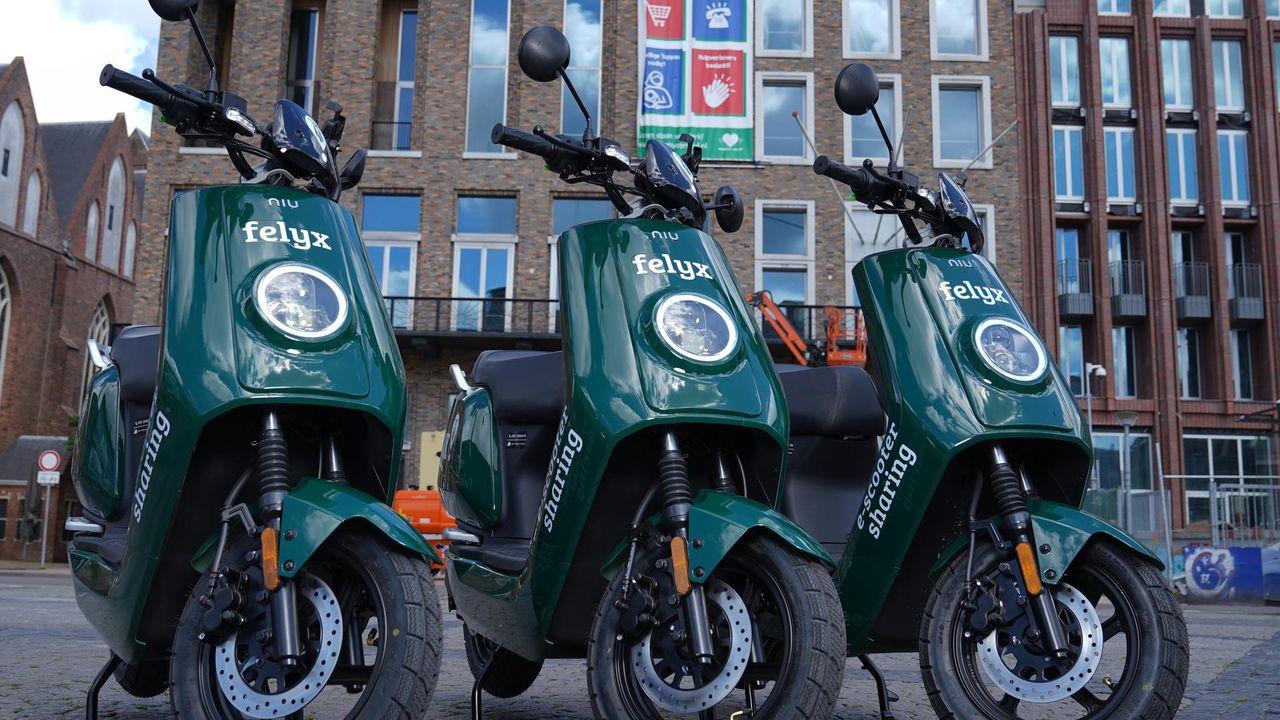 Maatregelen tegen foutparkeren van e-scooters in Den Bosch