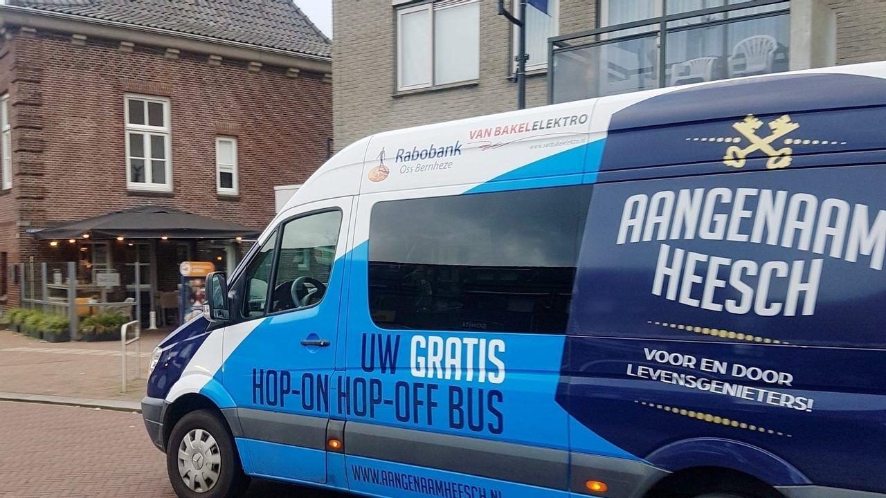 Heesche Hop-On-Hop-Off bus krijgt nog jaar subsidie
