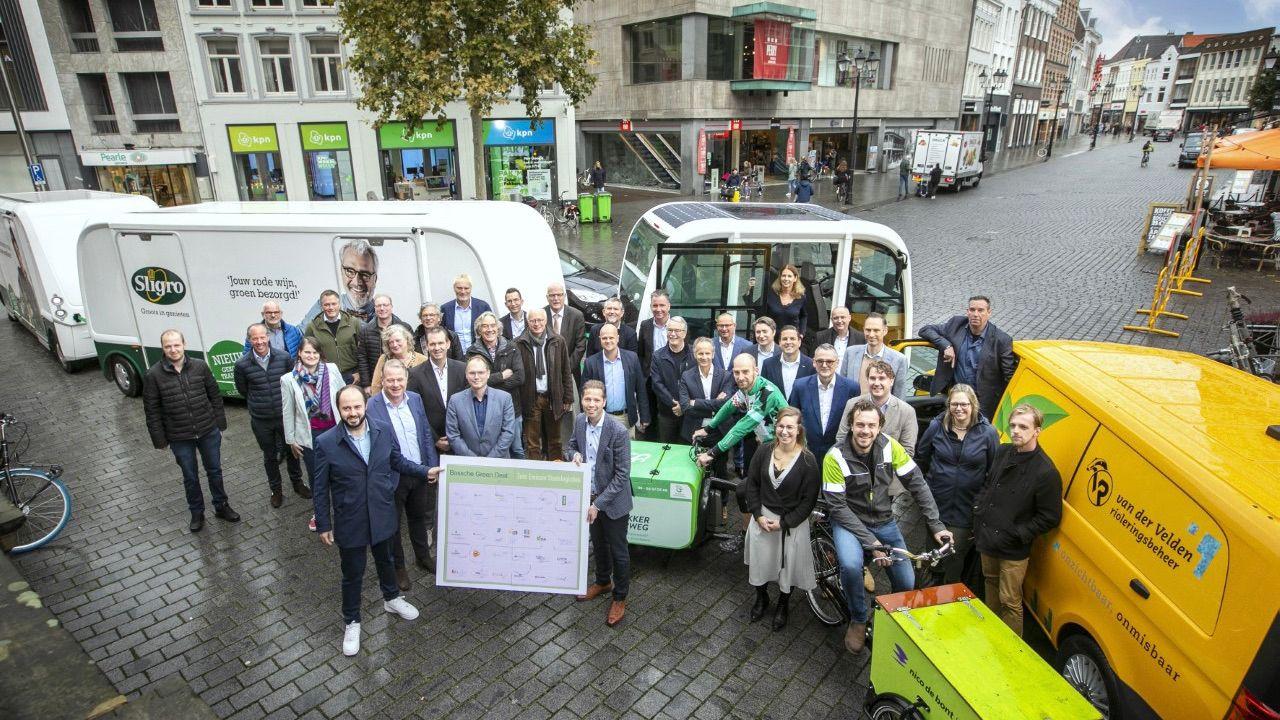 Green Deal moet bevoorrading Bossche binnenstad schoner en slimmer maken