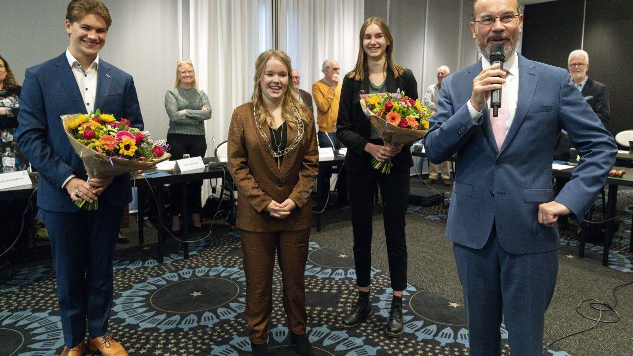Julia Goets (17) uit Reek is de nieuwe nationale jeugddijkgraaf