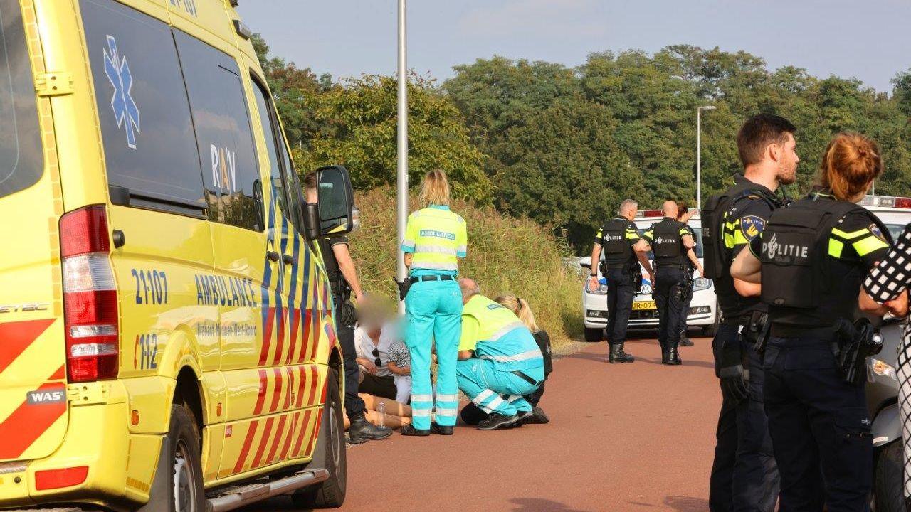 Fietser in Den Bosch raakt gewond door luchtdrukwapen