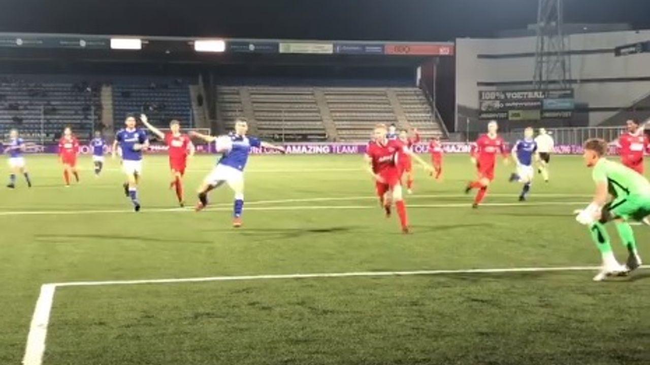 FC Den Bosch wint in eigen huis van koploper Jong AZ: 2-1