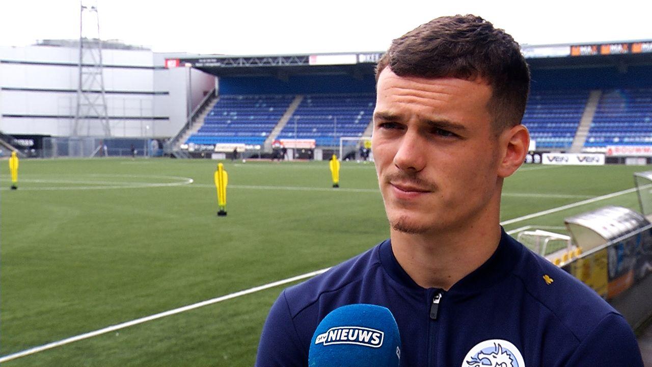 FC Den Bosch staat bovenaan, maar de fans vragen vooral: blijft Jizz Hornkamp? 'Er is weinig gaande'