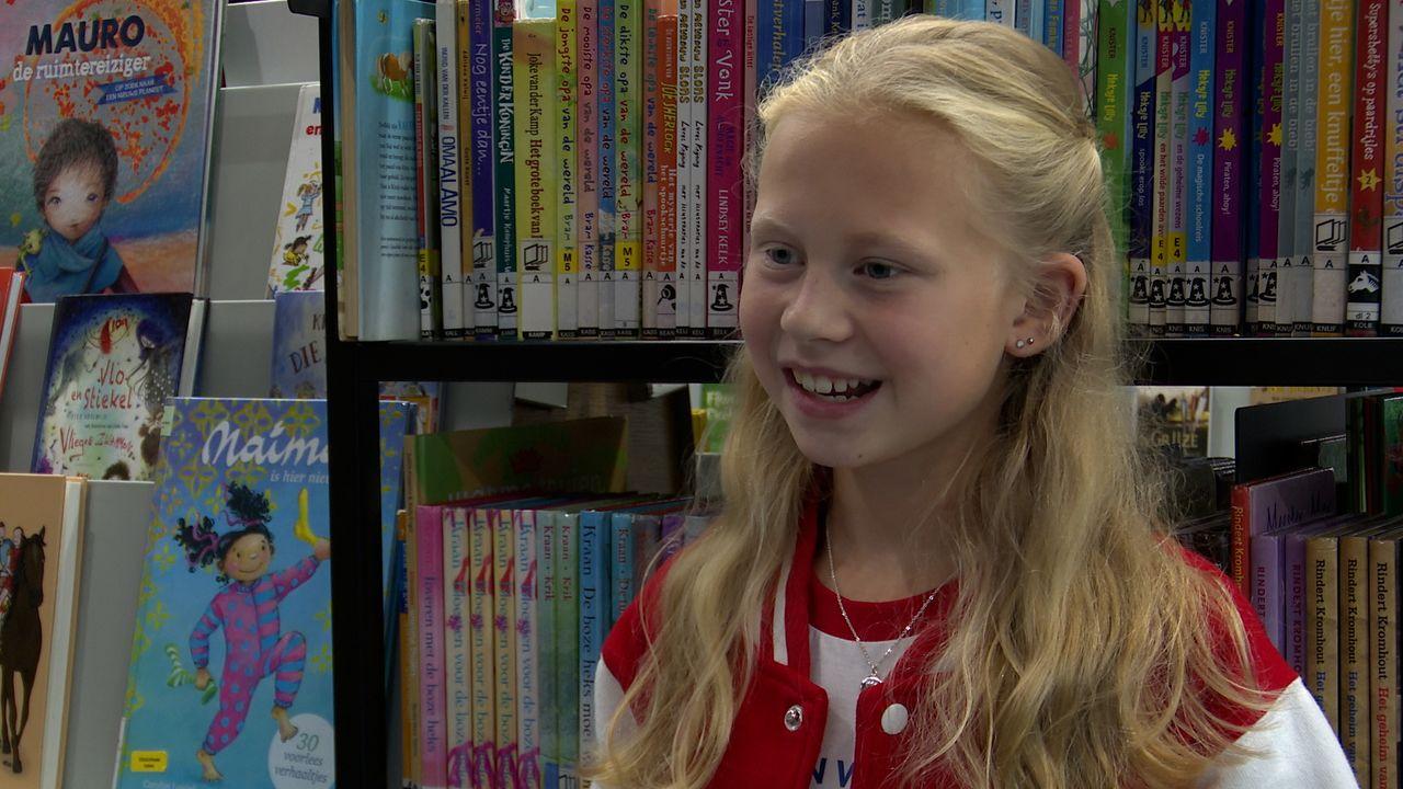 Lizzy (11) is ambassadrice van de Kinderboekenweek: 'Ik wil iedereen enthousiast maken om te lezen'