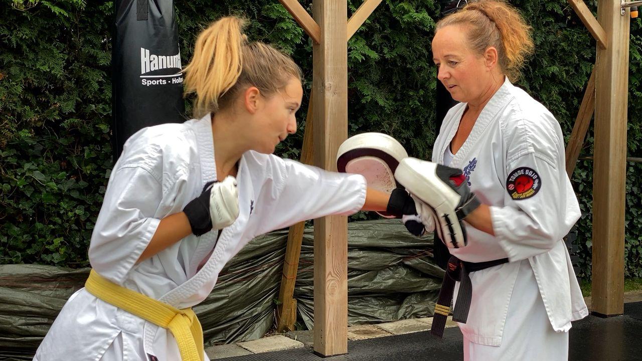 Sera (16) gaat naar het EK karate in Polen