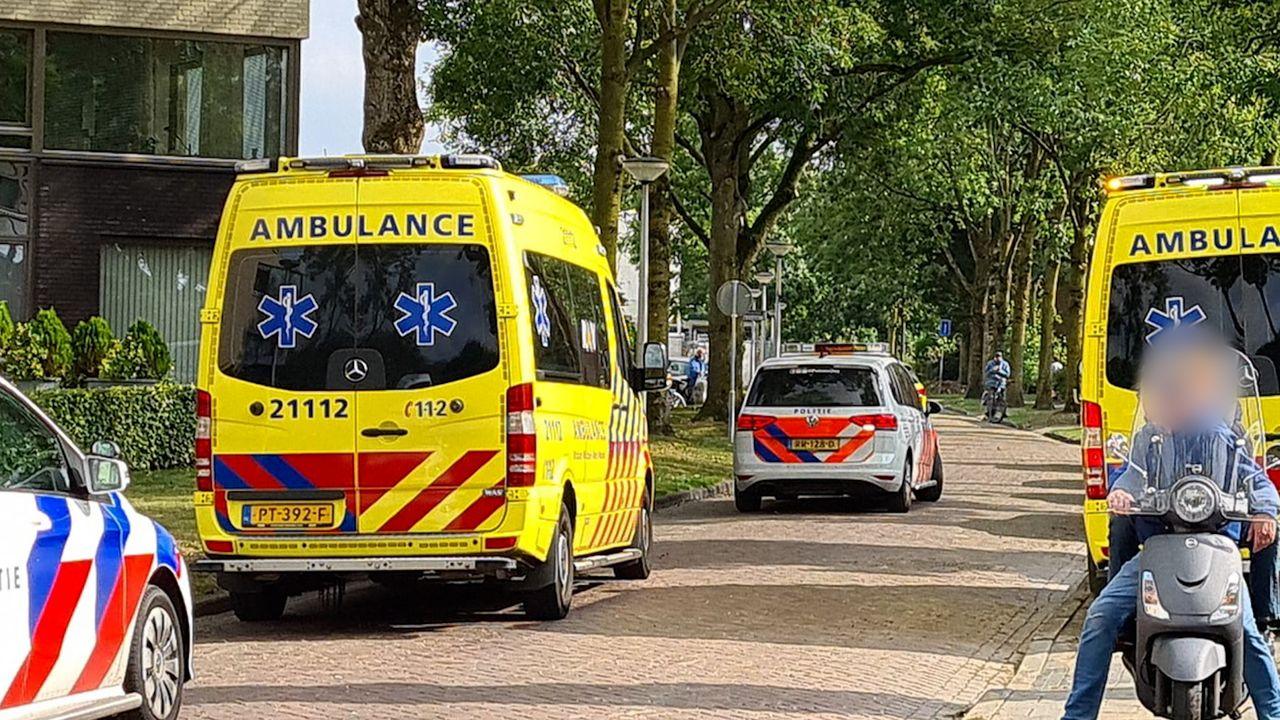 Hulpdiensten rukken massaal uit naar appartementencomplex Jeneverbes in Oss