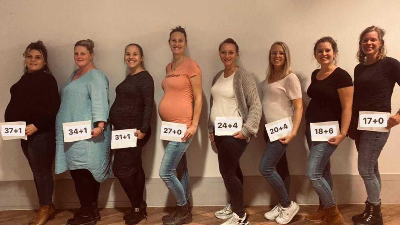 Tien verpleegsters tegelijk zwanger op kraamafdeling Bernhoven: 'Het was niet gepland'