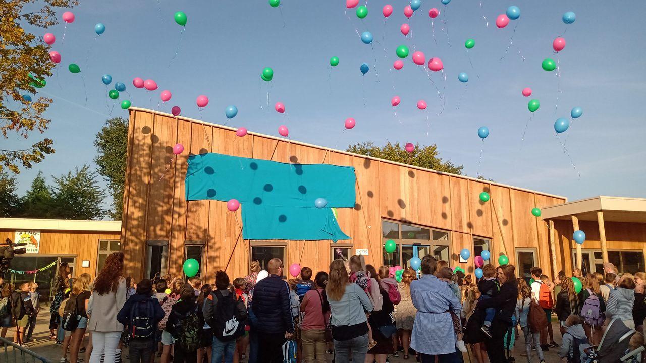 Basisschool 't Schrijverke in Herpen begint schooljaar in nieuw gebouw