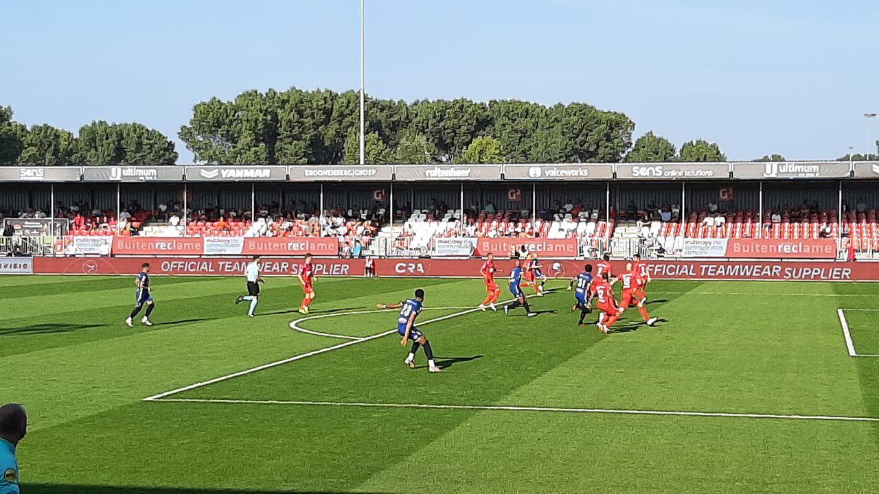 Almere City zet TOP Oss met beide benen terug op de grond
