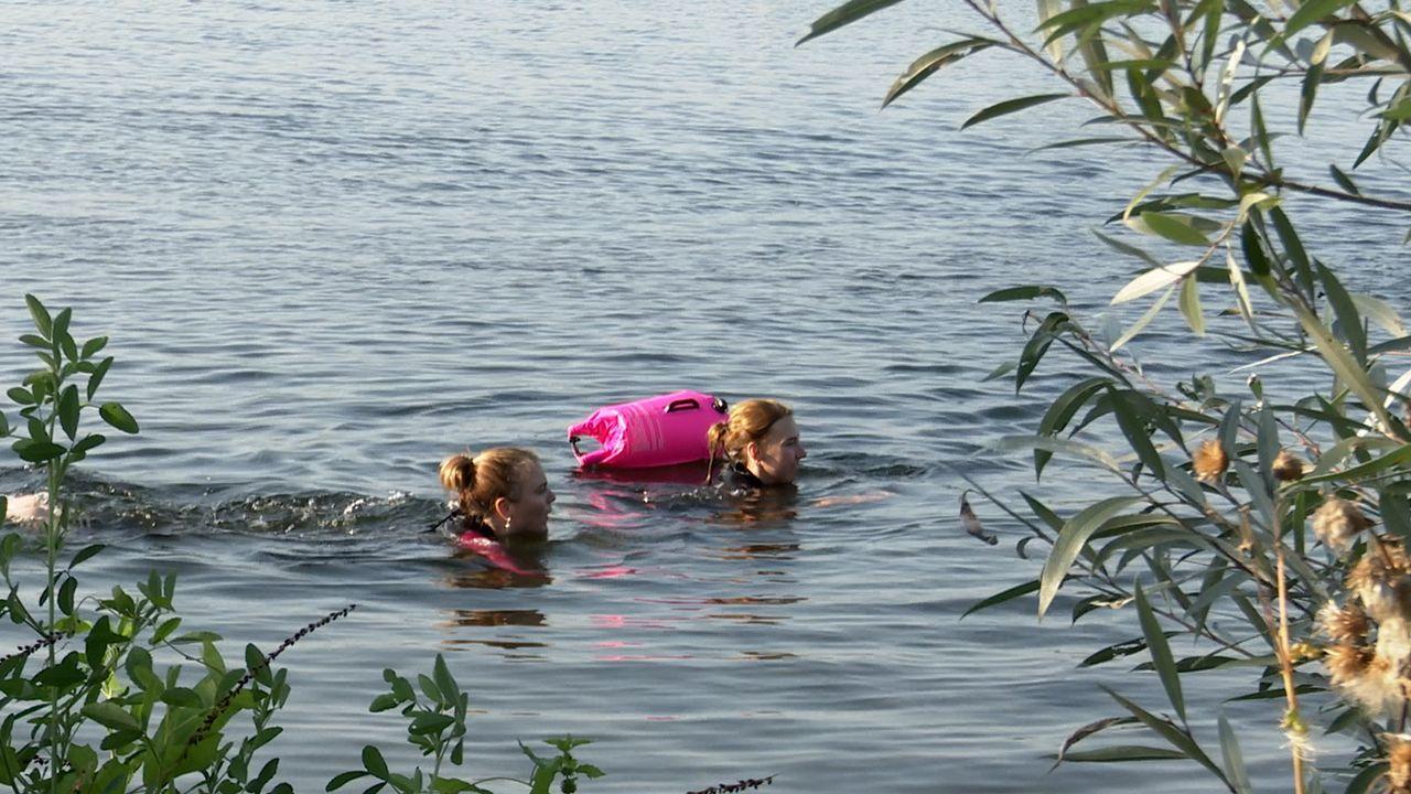 Oncologen Jeroen Bosch Ziekenhuis zwemmen voor onderzoek naar kanker