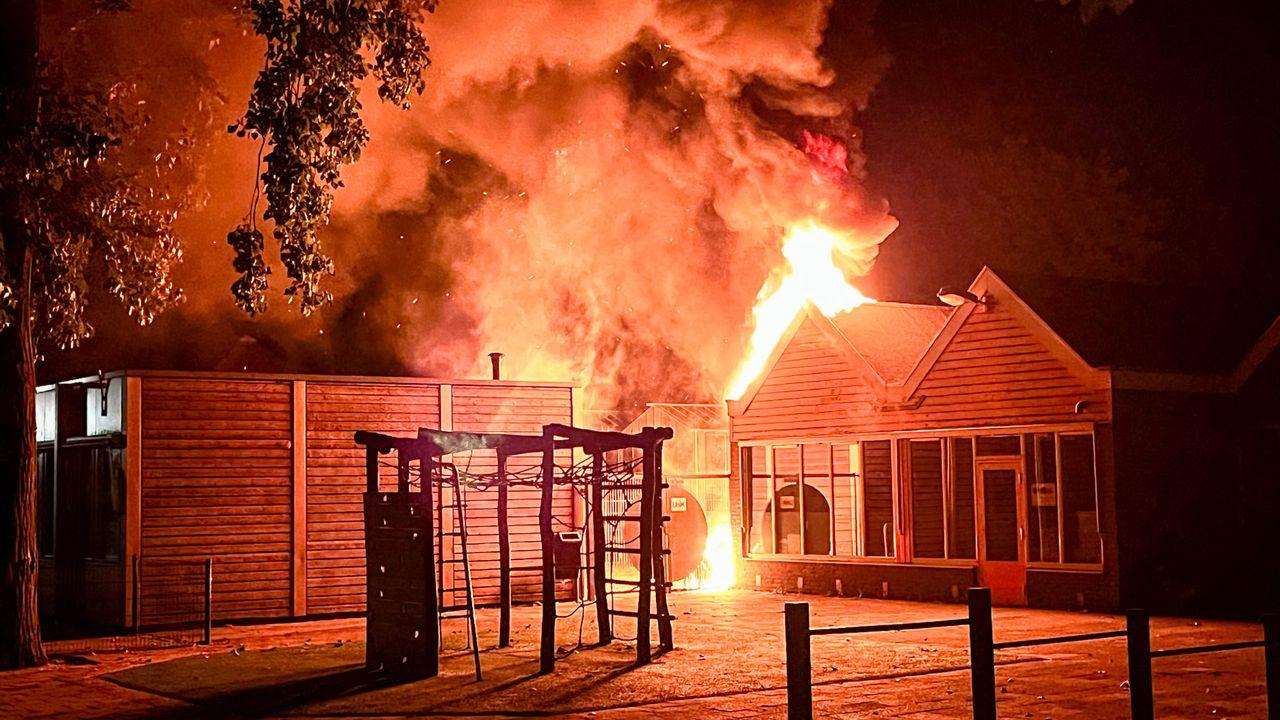 Opnieuw uitslaande brand bij Osse basisschool