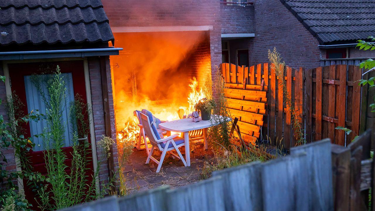 Brand op Leygraaf in Oss blijkt te zijn aangestoken, politie zoekt getuigen en camerabeelden