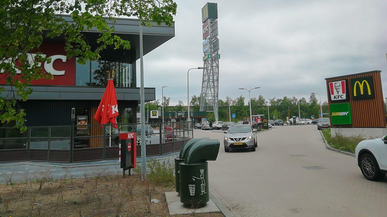 Voorstel voor geluidsscherm rond Foodcourt Uden toch weer afgeketst