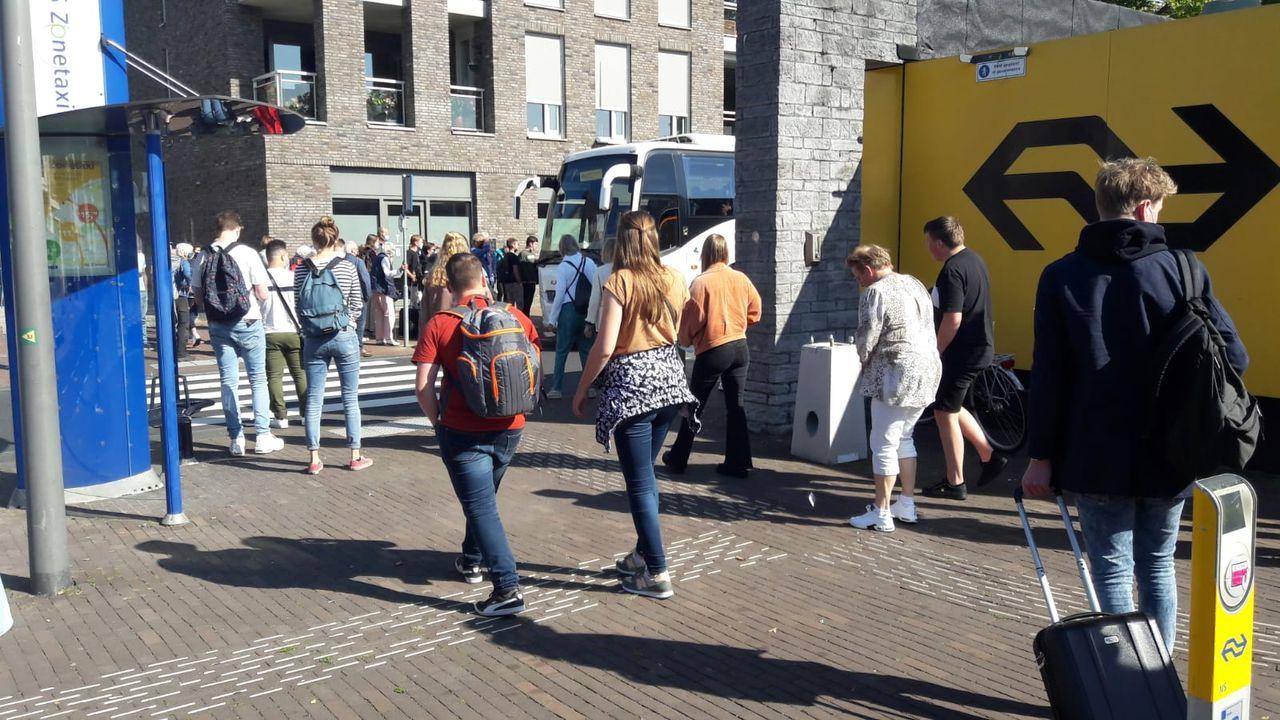 Tot laat in de middag geen treinen tussen Oss en Den Bosch door koperdiefstal