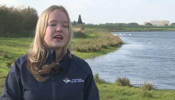 Julia Goets (18) is benoemd tot jeugddijkgraaf