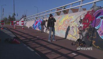 Legaal graffiti spuiten? Het kan in Uden